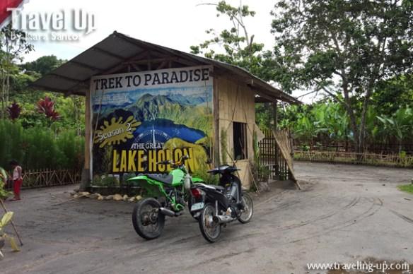 lake holon south cotabato motorcycles hut trek to paradise