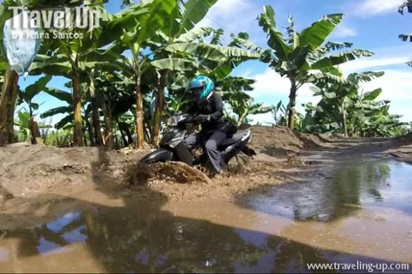 road to lake holon south cotabato motorcycle mud