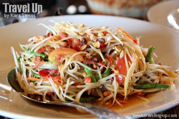 som tum papaya salad thailand bangkok