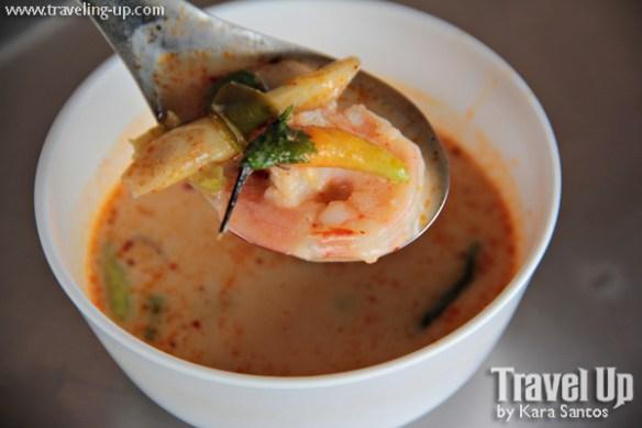 tom yum soup shrimp thailand bangkok