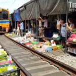 THAILAND: Maeklong Railway Market