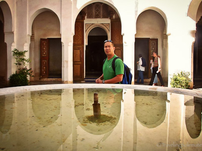 Courtyard in Bahia Palace Marrakesh
