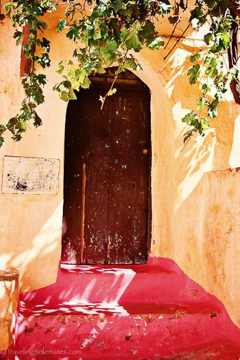 Bhalil Cave Home Door