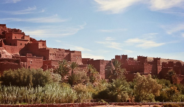 Ksar of Ait Benhaddou in Morocco