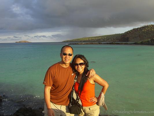In Floreana Island in Galapagos islands