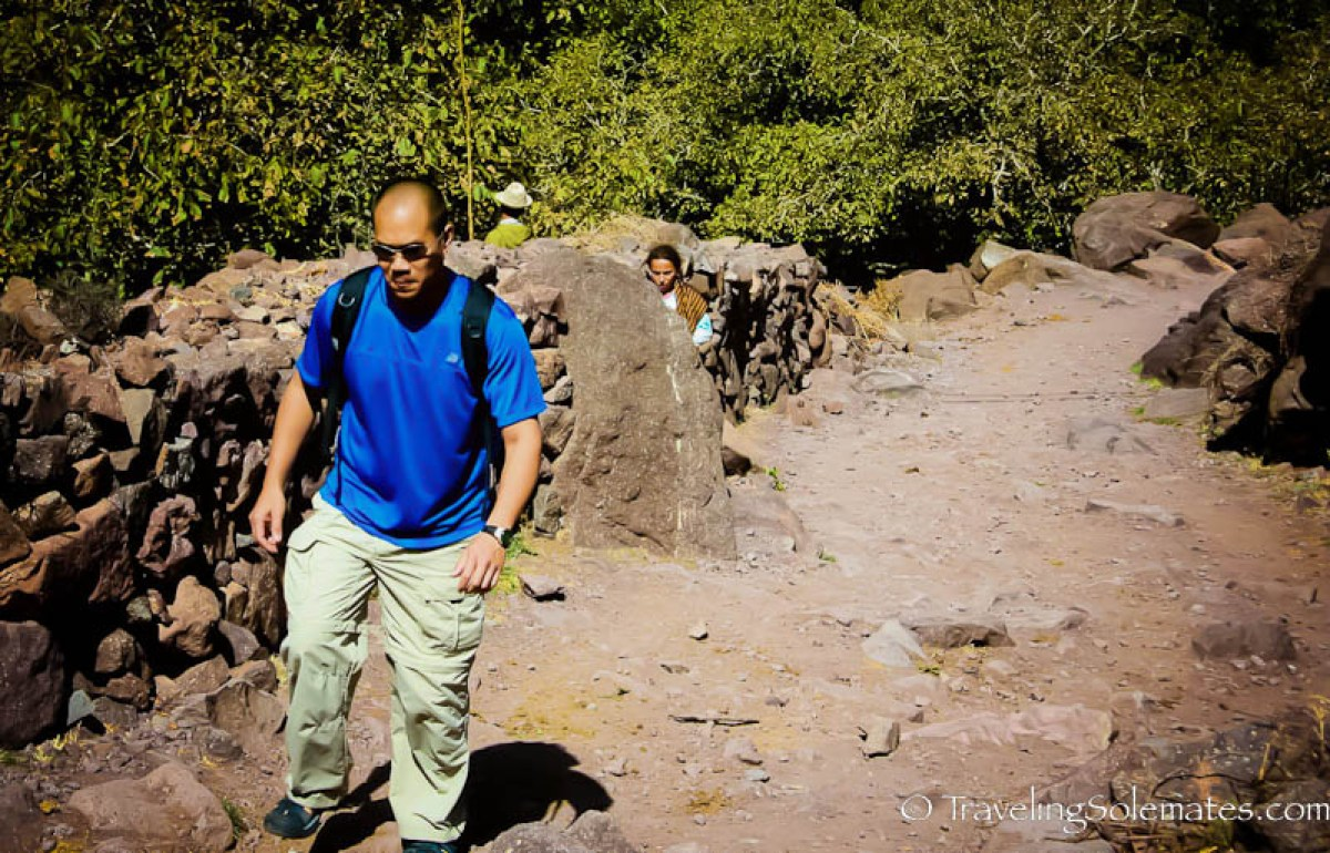 Hiking in The High Atlas Mountain, Morocco