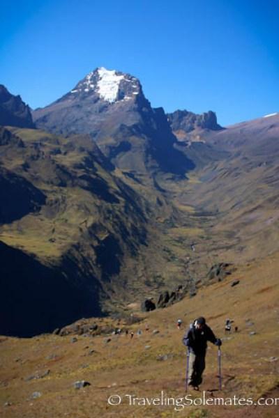 Second day, Lares Valley Trek Peru