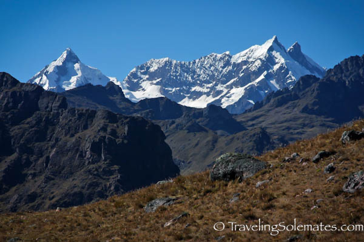 Snowpeak mountiains, Lares Valley Trek Peru