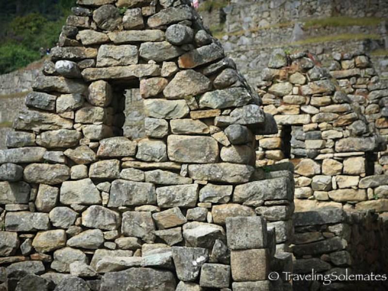 Structures in Machu Picchu