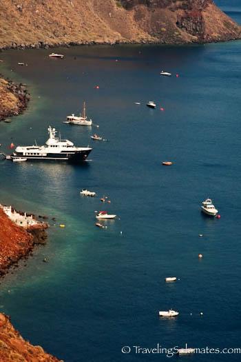 Armeni Bay, Santorini, Greece
