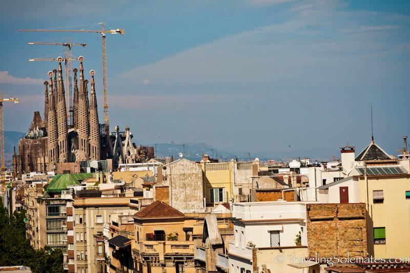 Gaudi's Sagrada de Familia, Barcelona, Spain