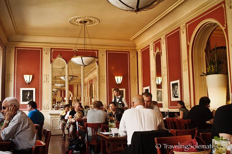 Cafe Louvre, Prague, Czech Republic