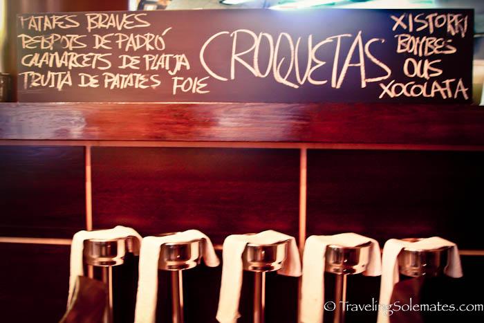 Tapas Bar, Barcelona, Spain