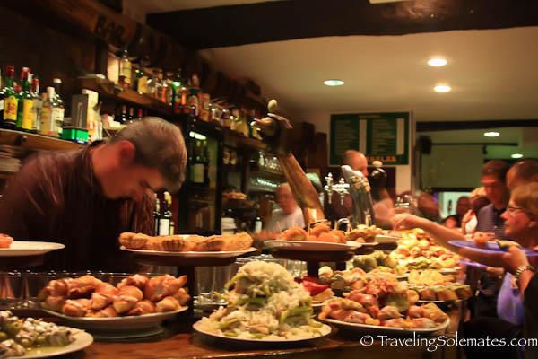 Pintxos Bar, San Sebastian, Spain