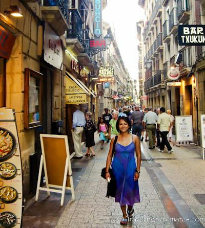 Old Quarter, San Sebastian, Spain
