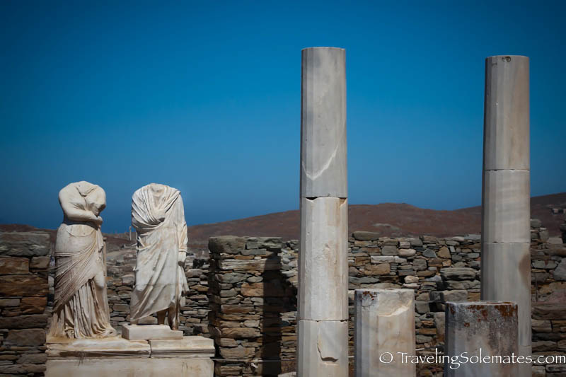 House of Cleopatra, Delos, Greece