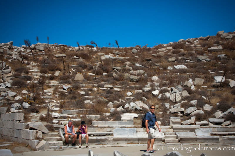 The Theater, Delos, Greece