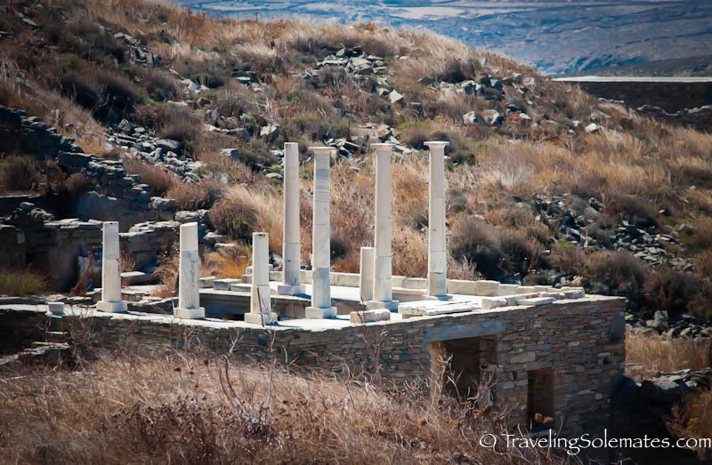 Temple of Hermes, Delos, Greece