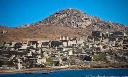The Ancient Ruins of Delos, Greece