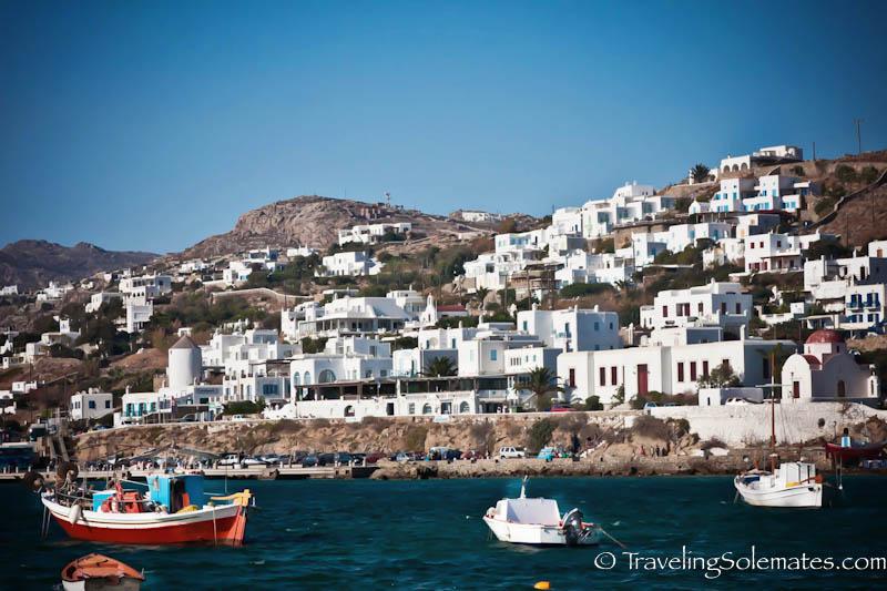Old Port, Mykonos Greece