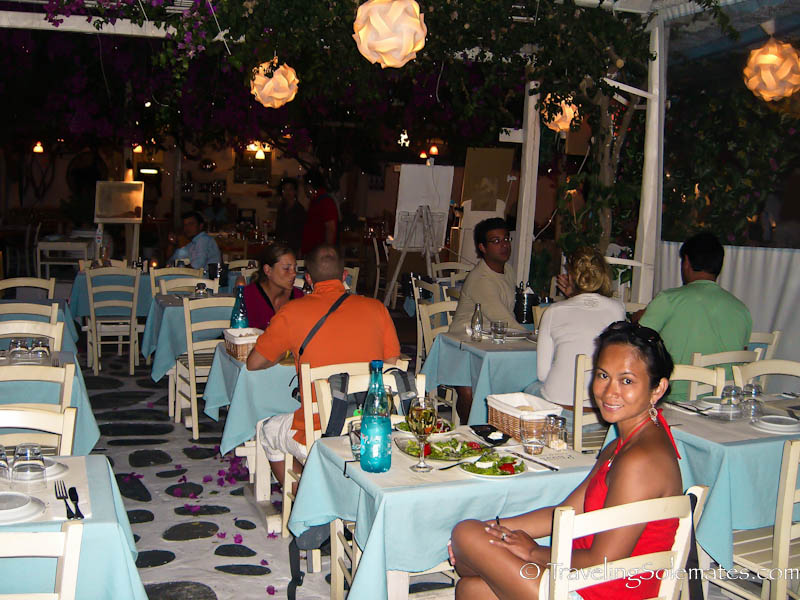 Restaurnat, Mykonos, Greece