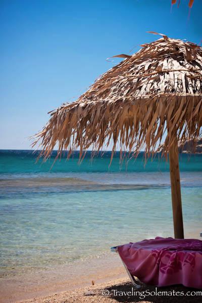 Paradise Beach, Mykonos Greece