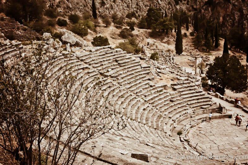The Theater, Delphi, Greece