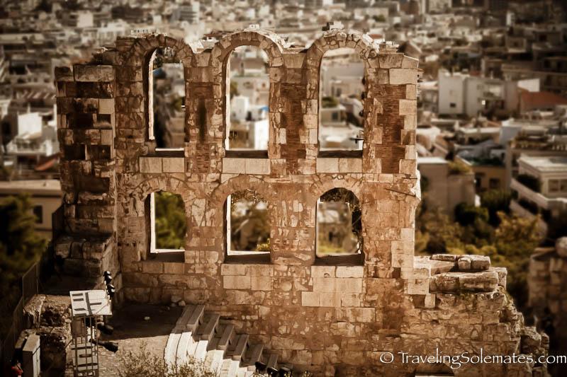 Odeon of Herodes Atticus, Acropolis, Athens, Greece