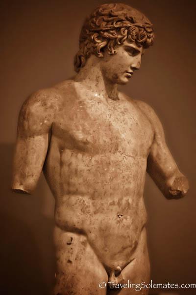 Antinuos, Delphi Museumi, Greece