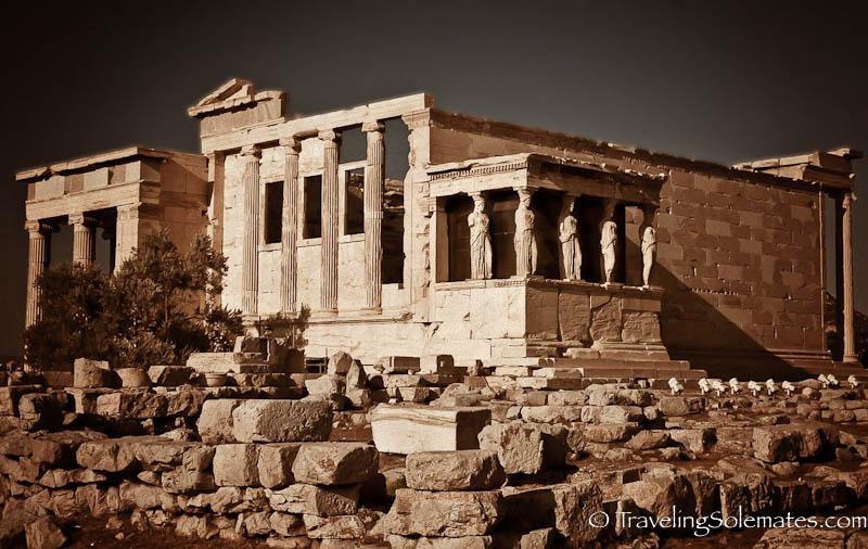Erechtheion, Acropolis, Athens Greece