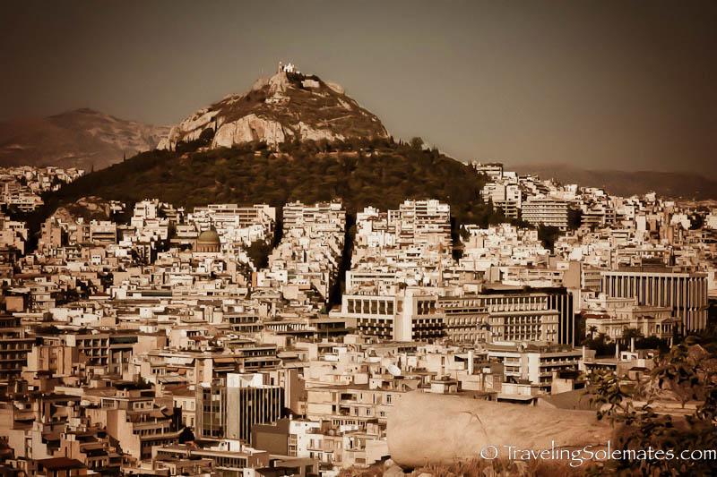 Lykavittos HIlls, Athens, Greece