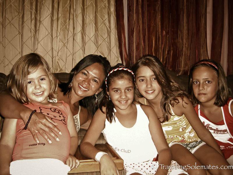 Greek BBQ wtih George's family