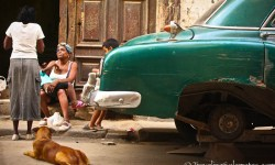 Cars and People, Havana, Cuba