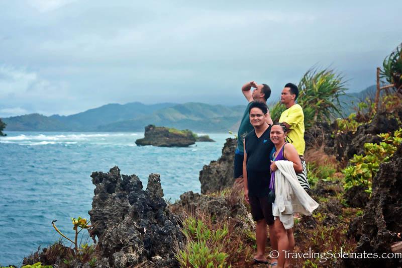 Island hopping to Magic Island  from Boracay Island, Philippines