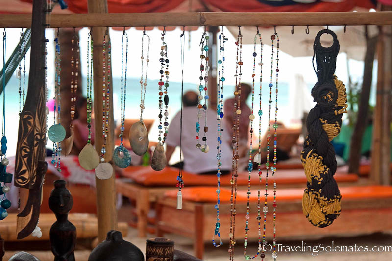 Trinkets for sale, Borcay Island, Philippines
