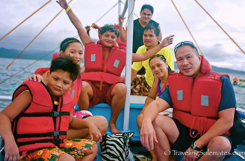 Boat Ride, Boracay Island, Philippines