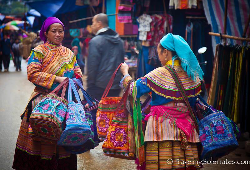02-Flower Hmong, Bac Ha Market, Vietnam