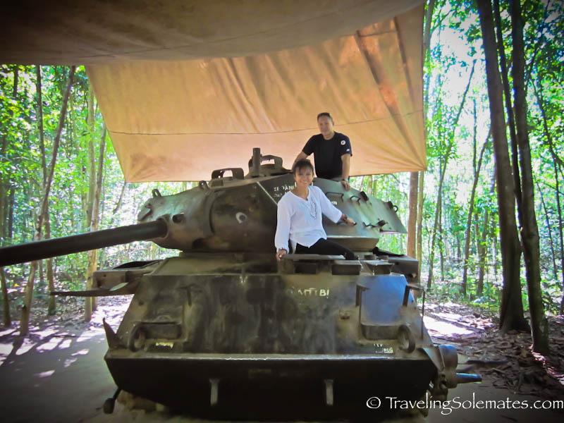American Tank, Cu Chi Tunnel, Vietnam