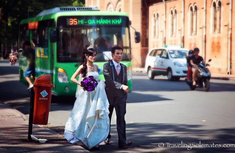Wedding, Ho Chi Minh, (Saigon), Vietnam.