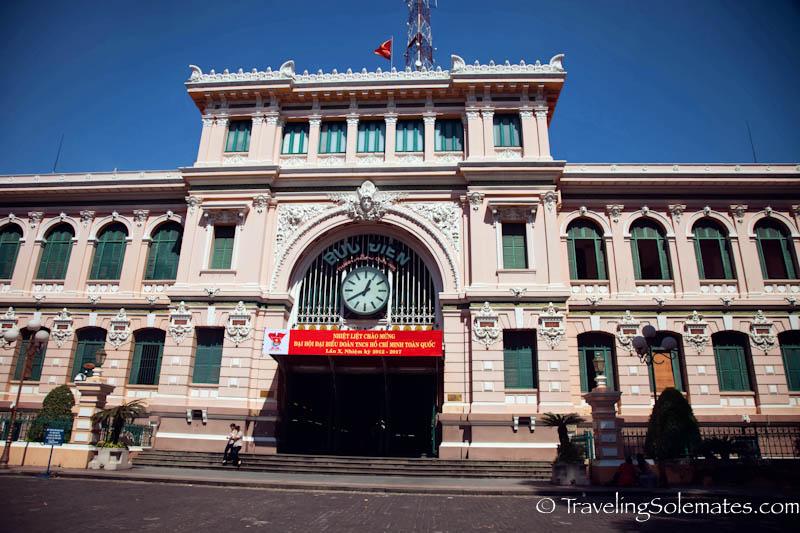 Post Office_Ho Chi Minh, (Saigon), Vietnam.