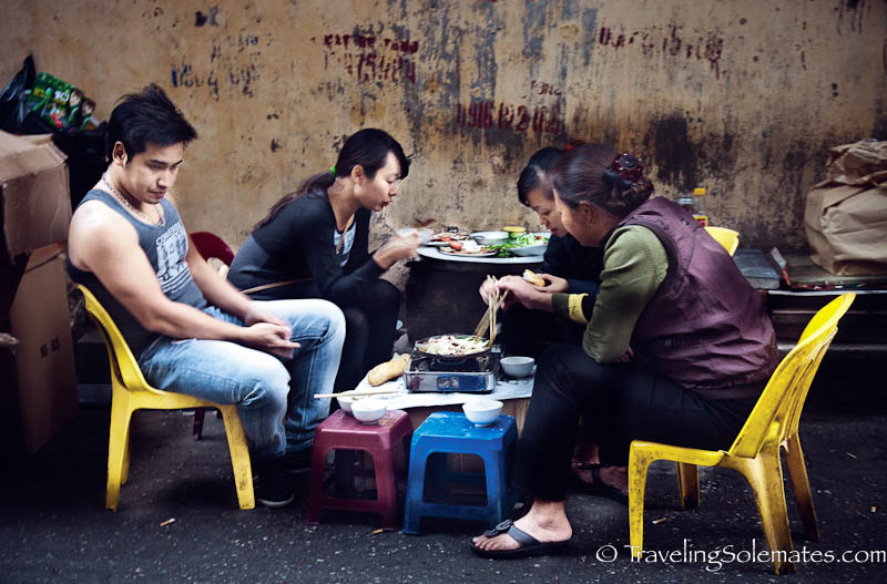 Street Food, Old Quarter, Hanoi, Vietnam