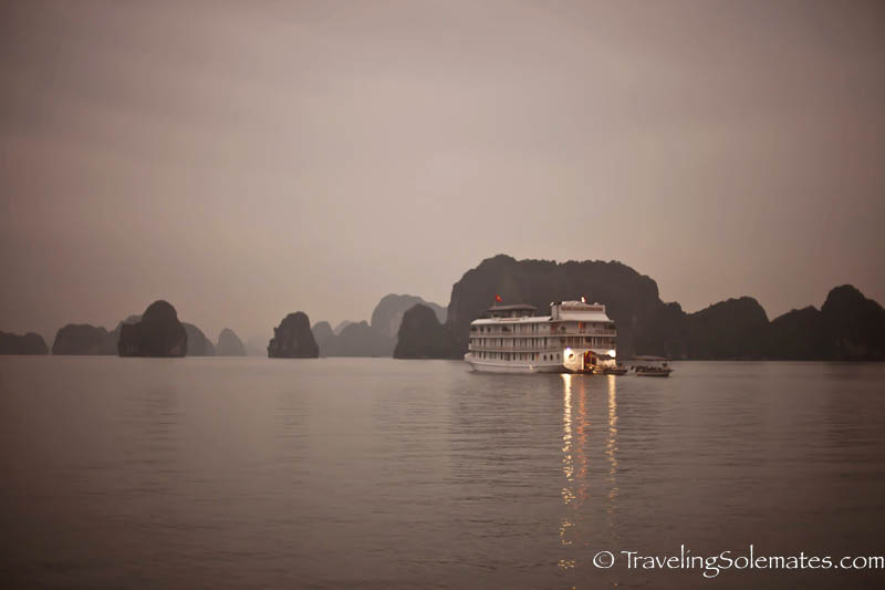 Morning in  Halong Bay, Vietnam