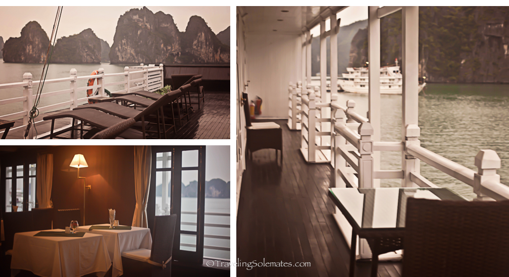 Bhaya Legend Cruise, Halong Bay, Vietnam