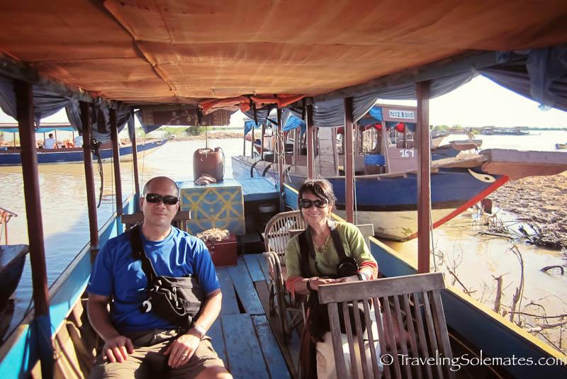Boat ride to Kompong Phluk, tonle Sap, Cambodia