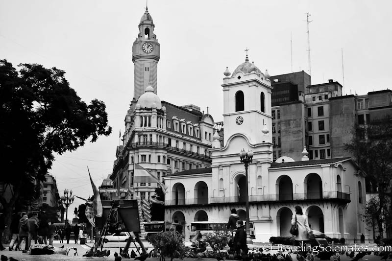 Cabildo, Plaza de Mayo, Buenos Aires, Argentina