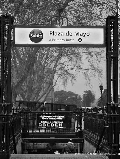 Subte, Buenos Aires, Argentina
