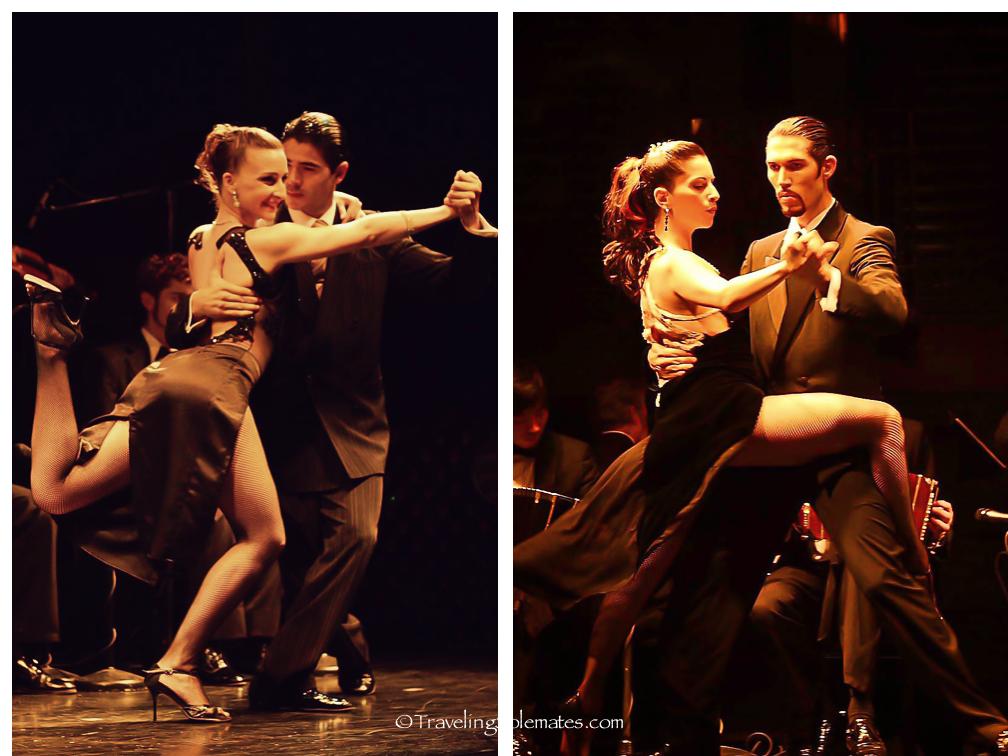 Tango Show at La Ventana, Buenos Aires, Argentina