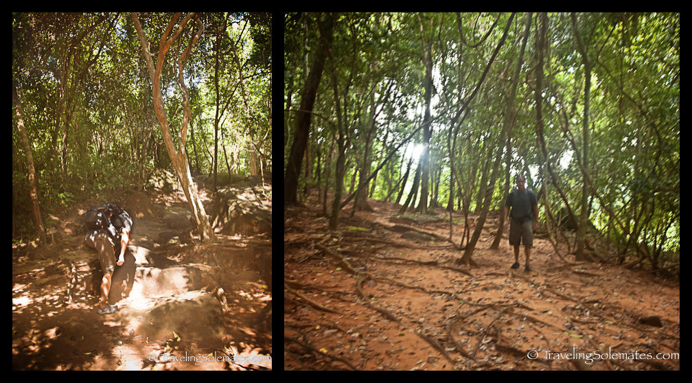 Hike to Kbal Spean, Cambodia