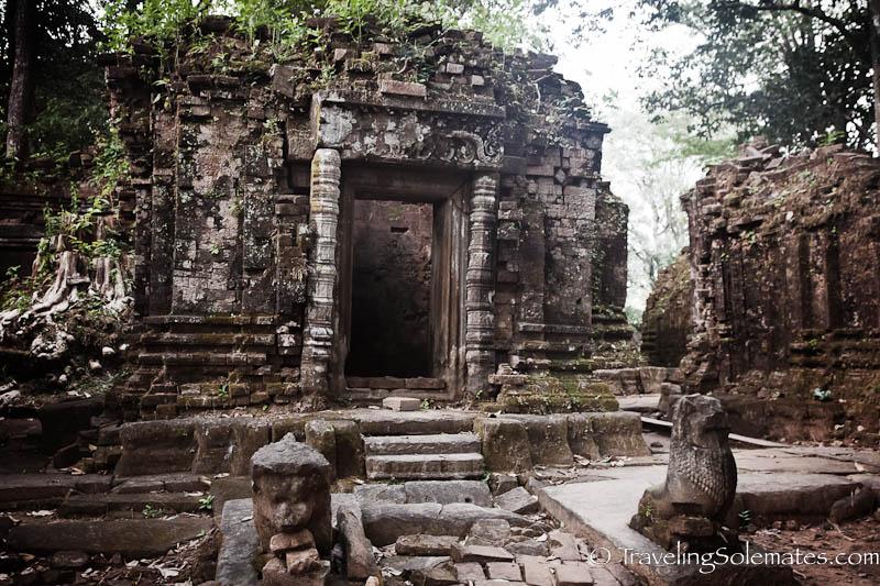 Ruins of Koh Ker, Cambodia