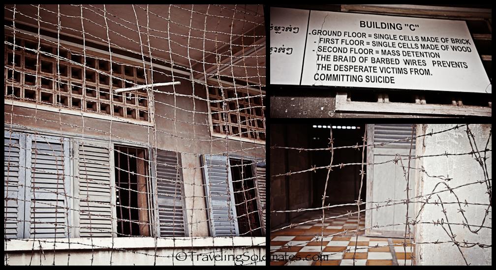 Barb Wires, Tuol Sleng Prison, Phnom Penh